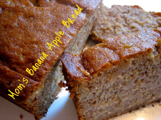 Mom's Banana Apple Bread